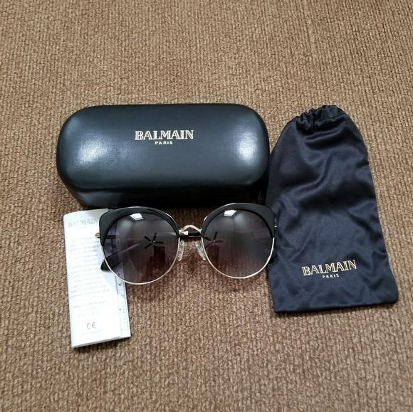 90fd4db080e9 Balmain Accessories - Balmain Cat Eye Sunglasses New